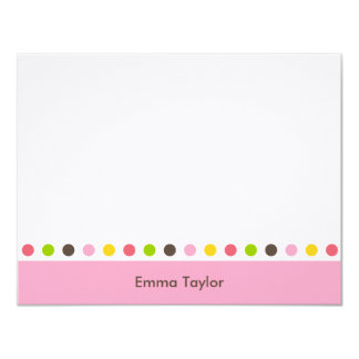 Pretty Dots Thank You Card