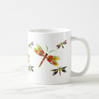 pretty dragonflies mug