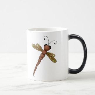 Pretty DragonFly Magic Mug