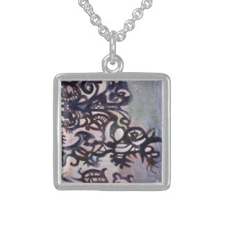 pretty dream sterling silver necklace