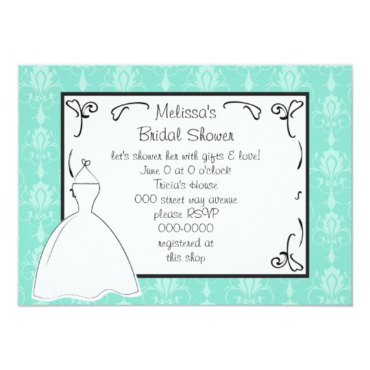 Pretty Dress Sketch Card