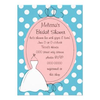 Pretty Dress Sketch Invite