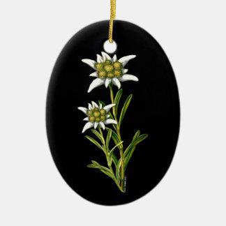 Pretty Edelweiss ornament