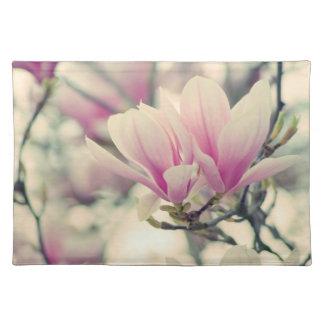 Pretty en pink big blossom manteles
