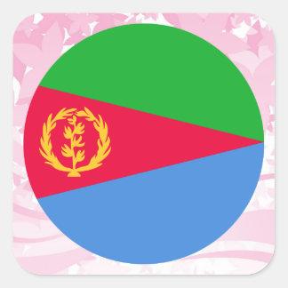 Pretty Eritrean Souvenir Square Sticker