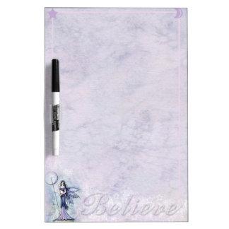 Pretty Fairy Dry Erase Board