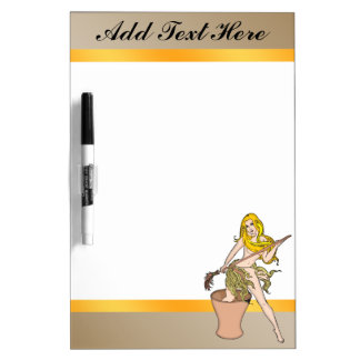 Pretty Fairy Tale Witch Dry Erase Board