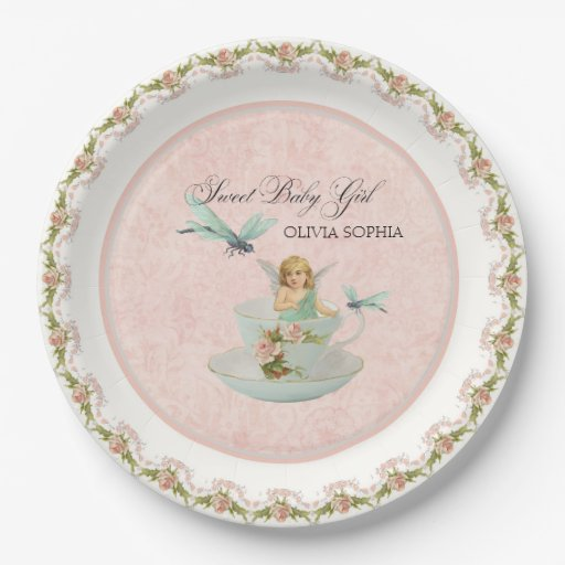 Pretty Fairy Tea Cup Party Baby Shower Party Decor