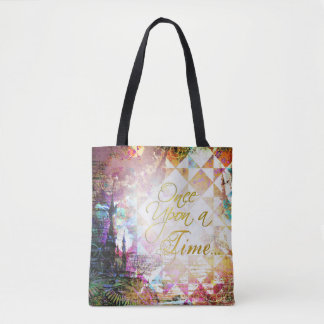 Pretty Fairytale Once Upon a Time Tote Bag