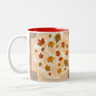 Pretty Fall Cup For Formal Gathering Or Anytime!