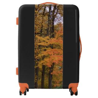 Pretty Fall Leaves Trees Luggage