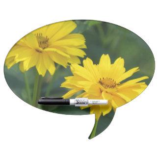 Pretty False Sunflowers Dry-Erase Whiteboard