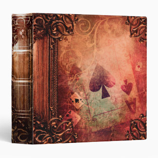 Pretty Fantasy Ace of Spades Ancient Tome Binder