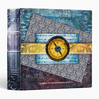 Pretty Fantasy Mystic Scrapbook Ancient Tome Book Vinyl Binders