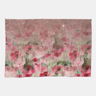 pretty roses kitchen towels zazzle