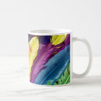 Pretty Feathers Coffee Mug