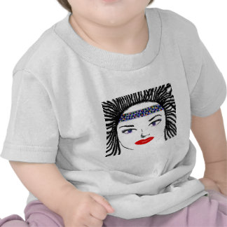 Pretty Female Faces T Shirts