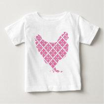 Pretty feminine chicken baby T-Shirt