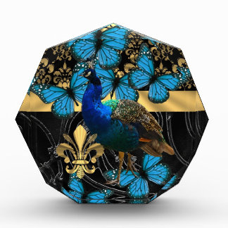 Pretty feminine peacock design award