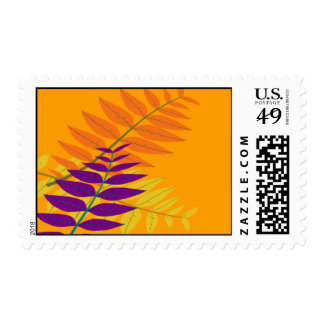 Pretty Ferns Postage Stamps