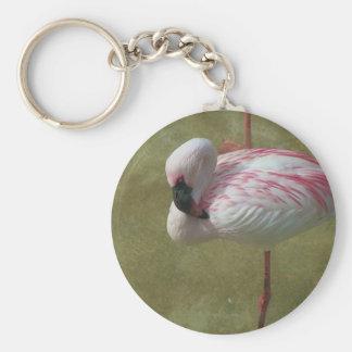 Pretty Flamingo Keychain