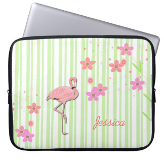 Pretty Flamingo Laptop Cover Computer Sleeves