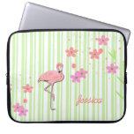 Pretty Flamingo Laptop Cover Laptop Sleeve
