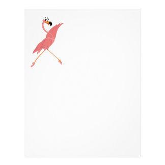 Pretty Flamingo Letterhead
