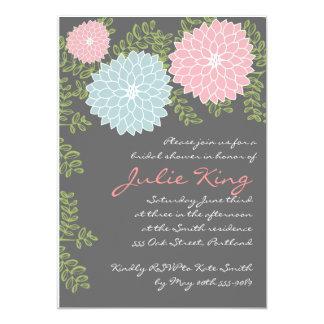 Pretty Floral Bridal Shower invititation Custom Announcement