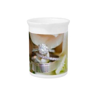 pretty-floral-dc-wedding-ring-shot-Rebekah-Hoyt-Ph Drink Pitcher