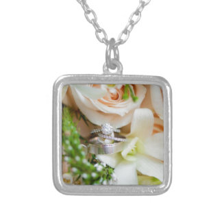 pretty-floral-dc-wedding-ring-shot-Rebekah-Hoyt-Ph Silver Plated Necklace