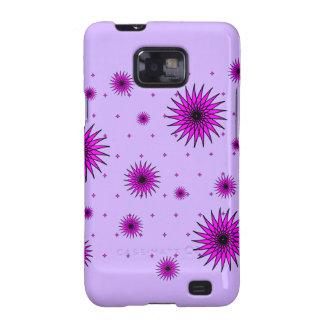 Pretty Floral Design Galaxy S2 Case