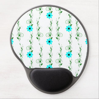 Pretty Floral Gel Mouse Pad