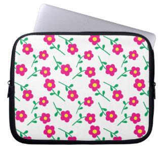 Pretty floral LapTop Case