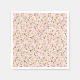 Pretty Floral Paper Napkin