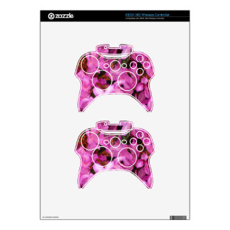 Pretty floral personalized xbox 360 controller skins