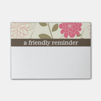 Pretty Floral Post-it® Notes