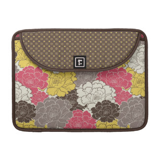 Pretty Floral Rickshaw Sleeve for MacBooks