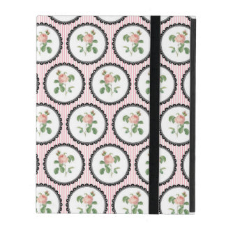 Pretty Floral Wallpaper iPad Case