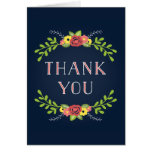 Pretty Florals | Thank You Card