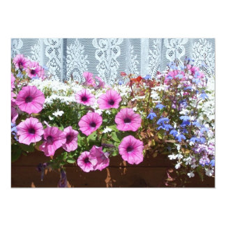 Pretty Flower Box Card