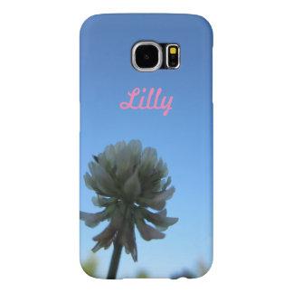 Pretty Flower Custom Phone Case Samsung Galaxy S6 Cases