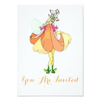 Pretty Flower Fairy Card