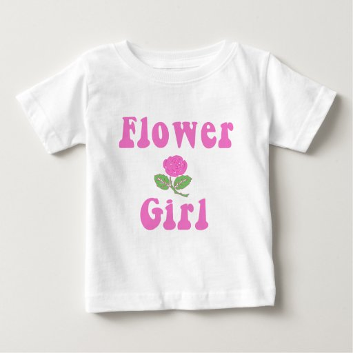Pretty Flower Girl Products Baby T-Shirt