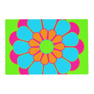 Pretty Flower Power Bloom III + your backgr. Placemat