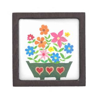 Pretty 'Flower Power' Gift Box Premium Jewelry Boxes