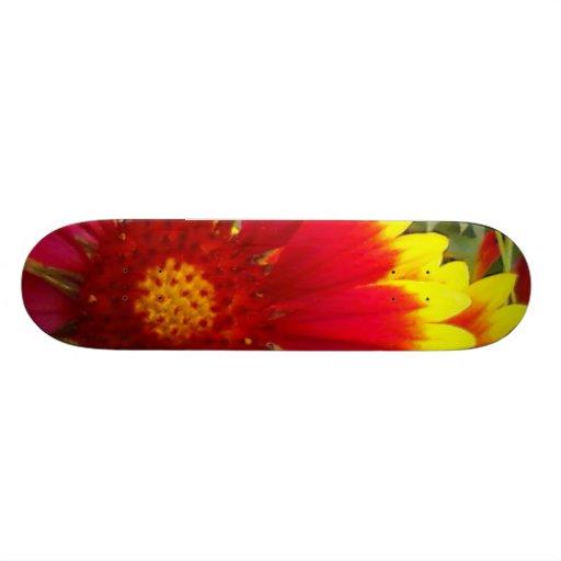 Pretty Flower Skate Board Deck