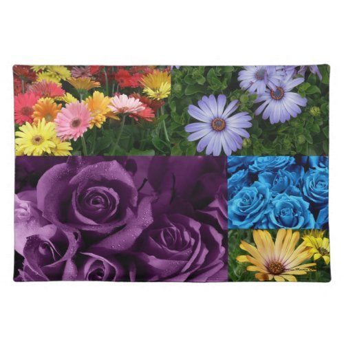 Pretty Flowers -American MoJo Placemat mojo_placemat