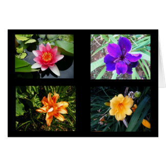 Pretty Flowers, Blank Card