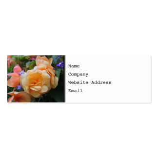 Pretty Flowers. Business Card Template